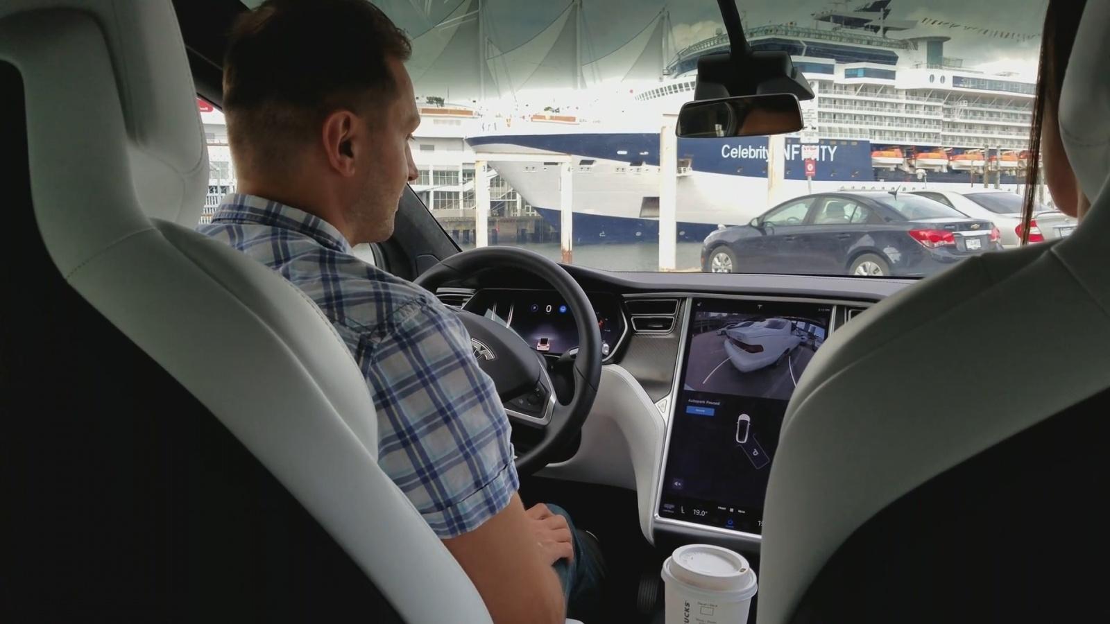 Test Drive Tesla Model X - 10