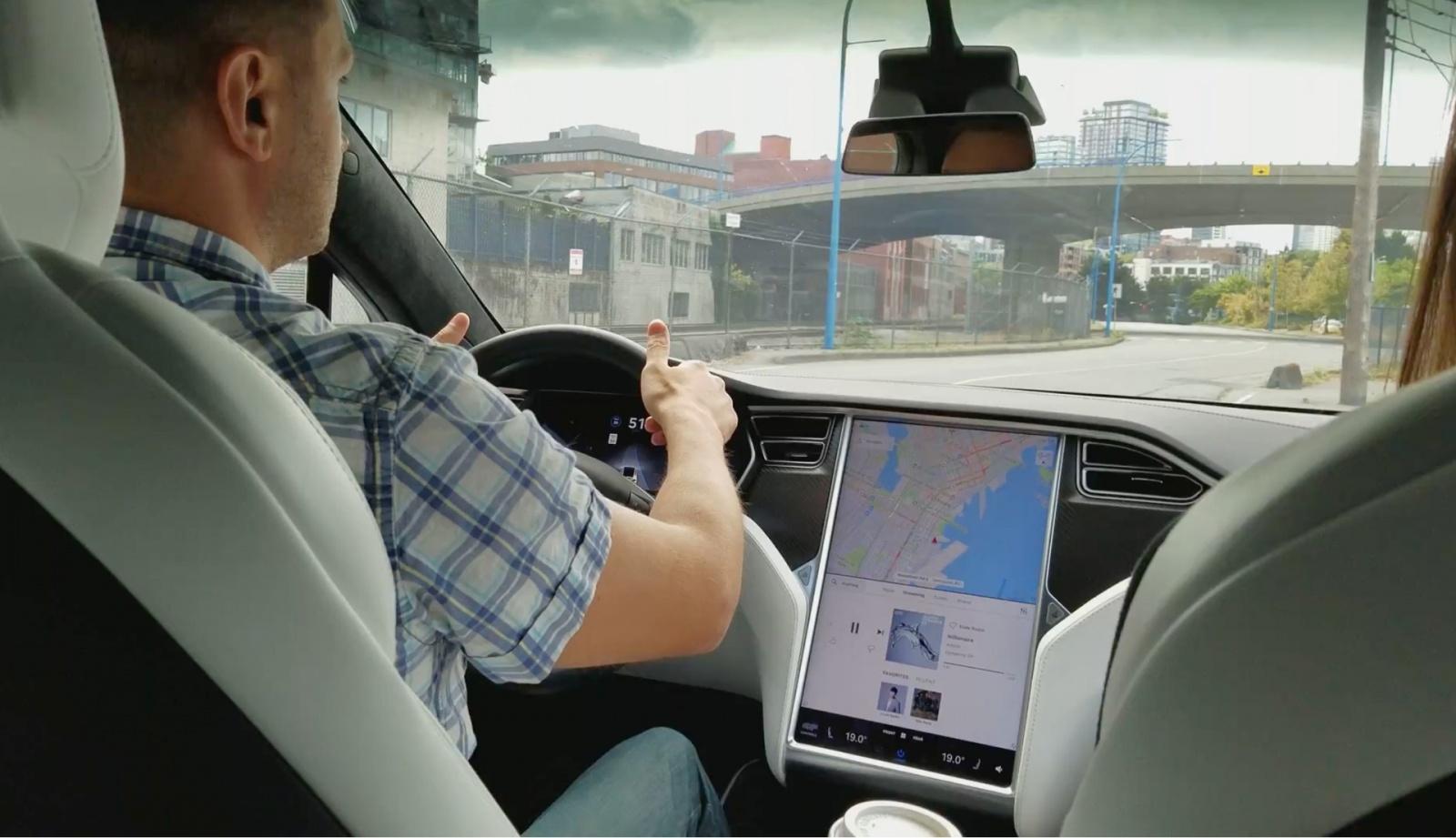 Test Drive Tesla Model X - 9