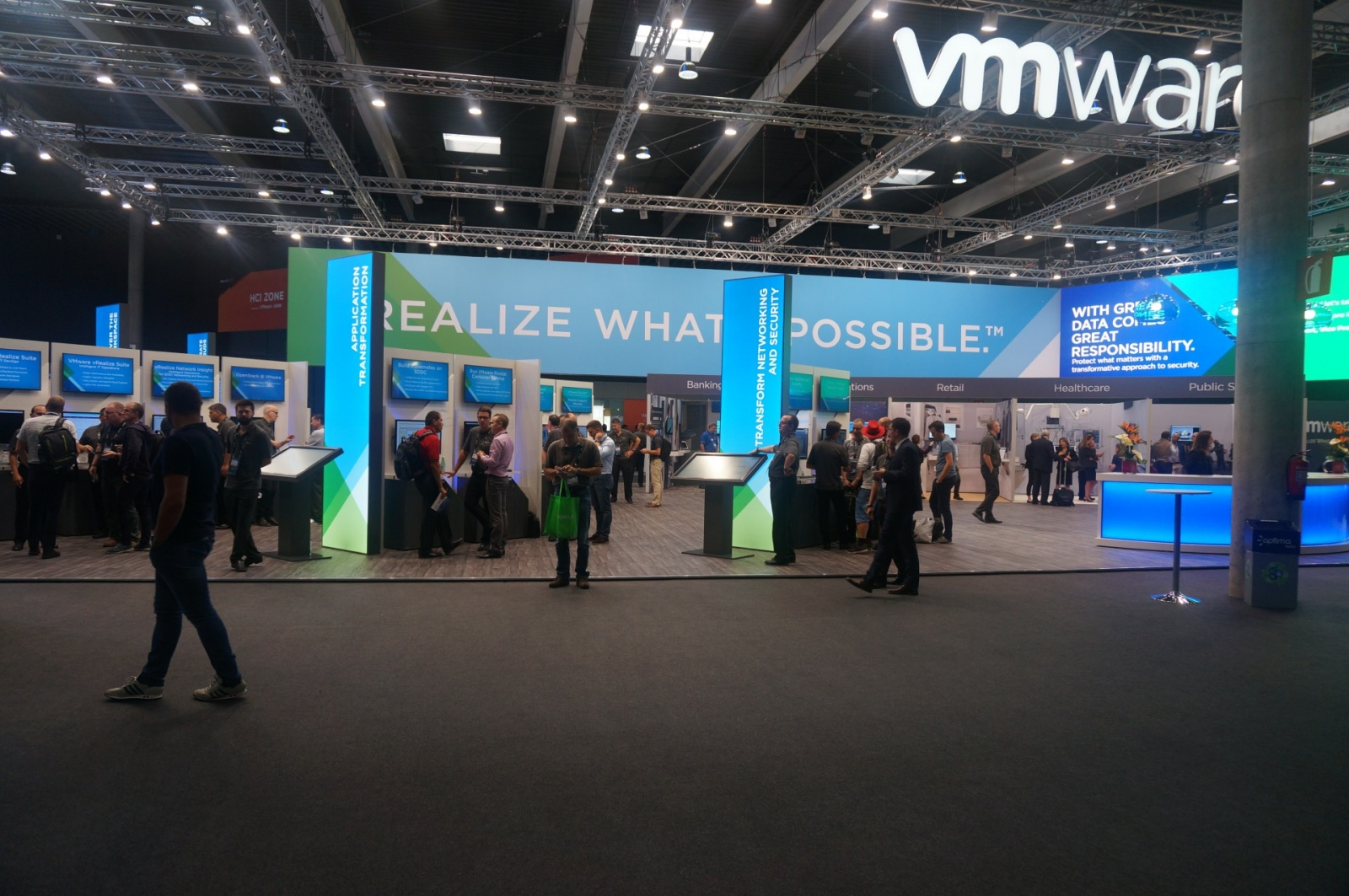 Конференция VMworld 2017 Europe. День 1 - 6