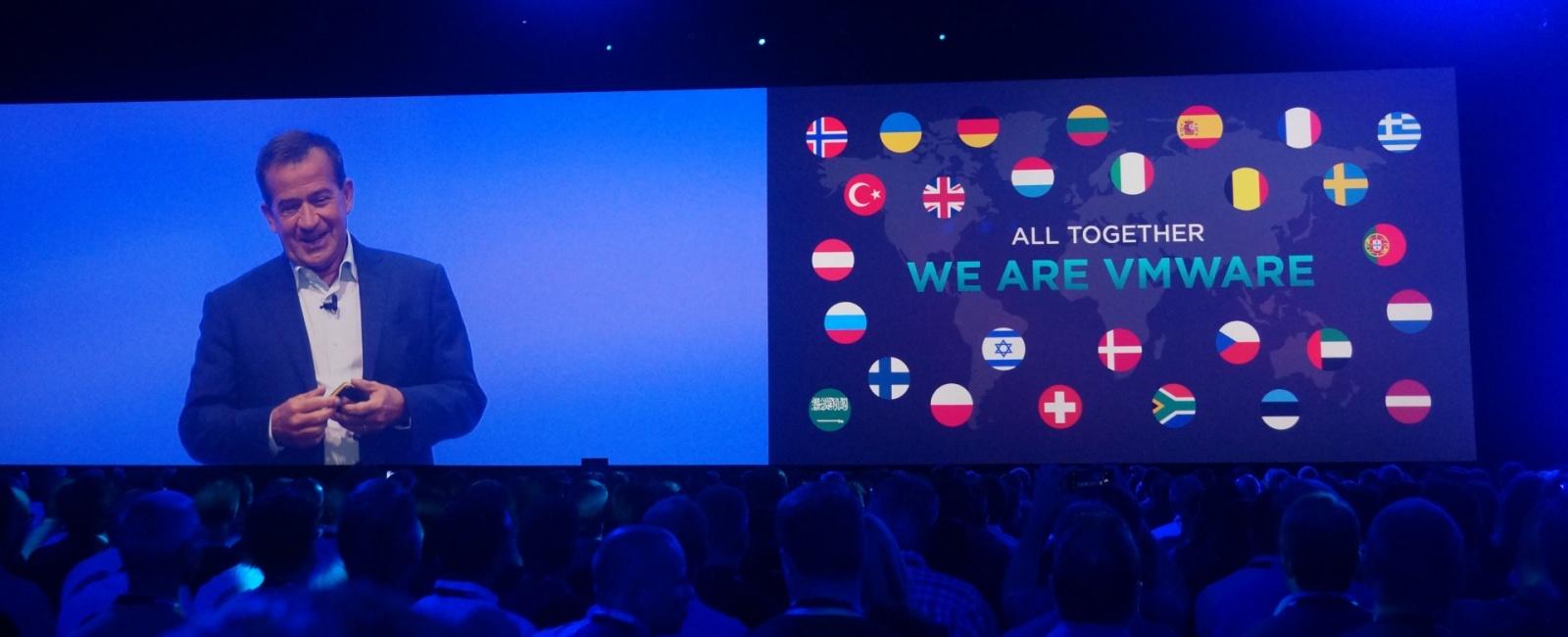 Конференция VMworld 2017 Europe. День 1 - 1