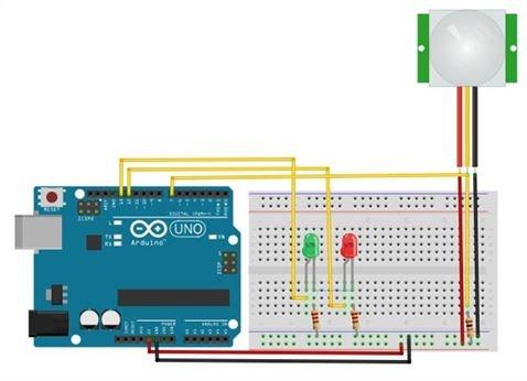 Методы разработки потока программного обеспечения датчиков движения, работающих с Arduino - 3