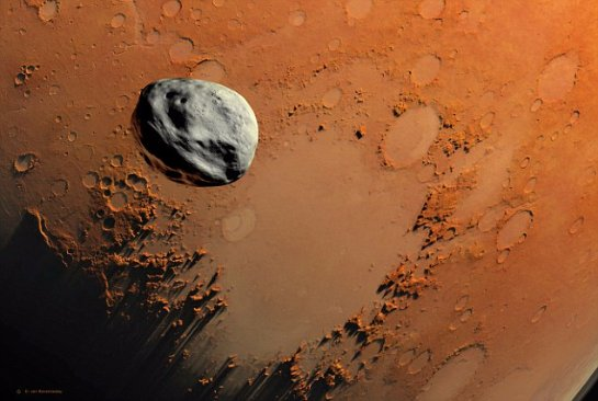Марсу угрожает астероид