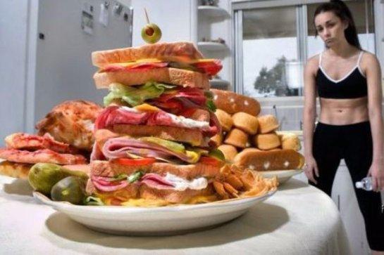 Ученые заявили, что жирная пища сокращает срок жизни человека