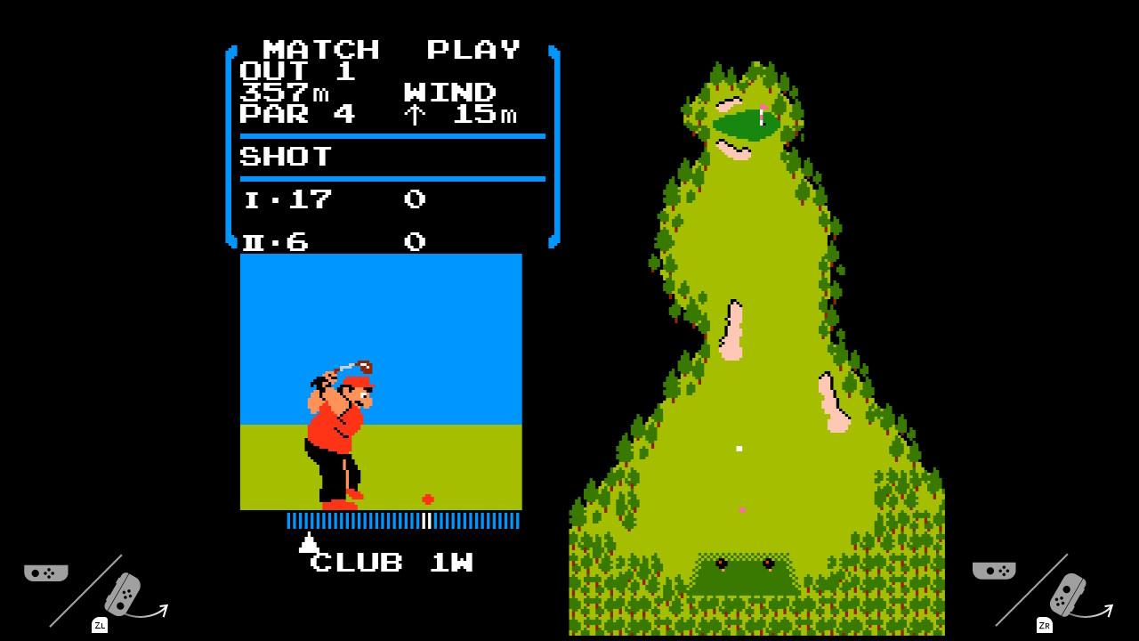 В Nintendo Switch обнаружилась пасхалка — NES-игра Golf - 3