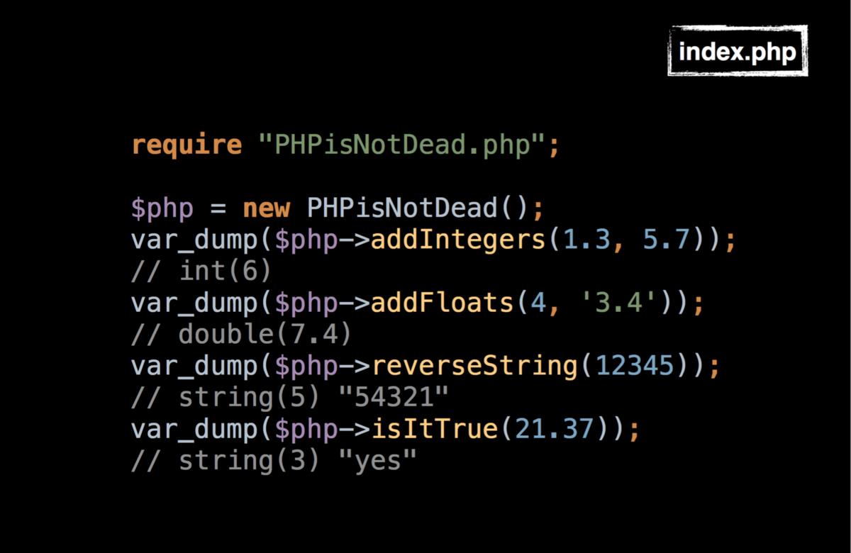 PHP жив. PHP 7 на практике - 11