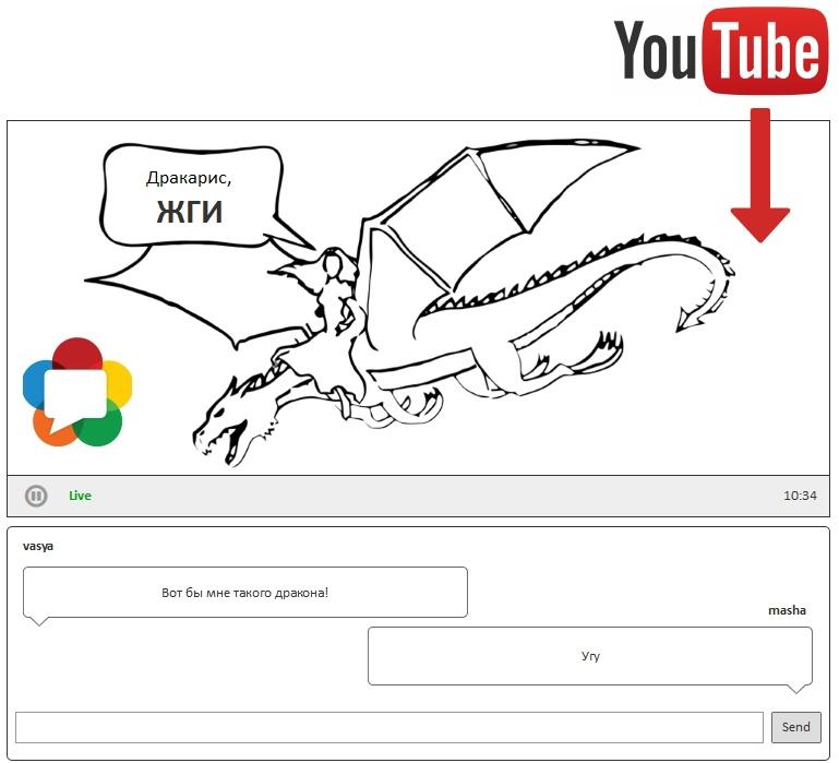 Тянем ролик с YouTube и раздаем по WebRTC в реалтайме - 1