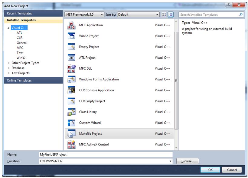 Пишем для UEFI BIOS в Visual Studio. Часть 1 — разворачивание среды разработки, компиляция и запуск на отладку - 5