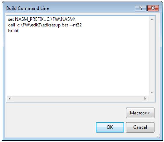 Пишем для UEFI BIOS в Visual Studio. Часть 1 — разворачивание среды разработки, компиляция и запуск на отладку - 7