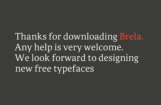 Великолепная подборка бесплатных шрифтов: лучшие из лучших - 8