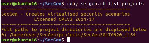 Создаем уязвимые виртуальные машины в два счета с SecGen - 10