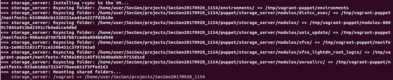 Создаем уязвимые виртуальные машины в два счета с SecGen - 6