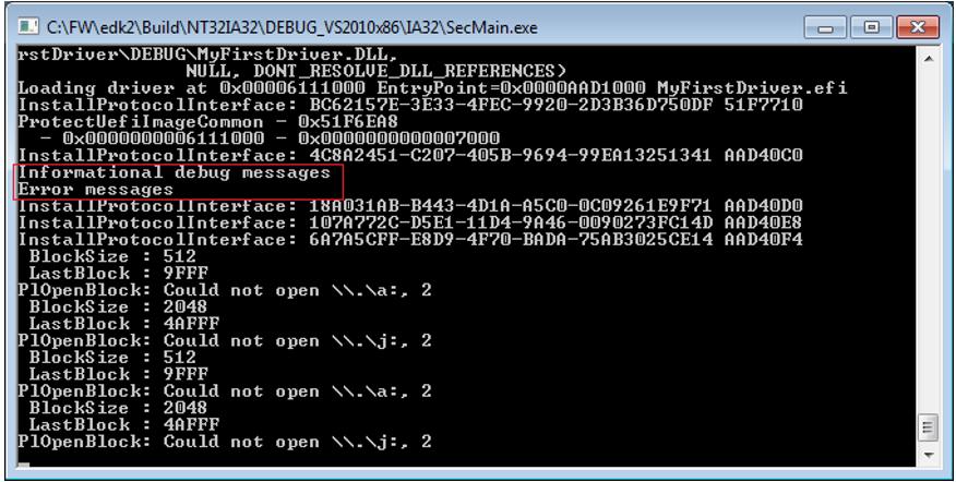 Пишем для UEFI BIOS в Visual Studio. Часть 2 – создаем свой первый драйвер и ускоряем отладку - 12