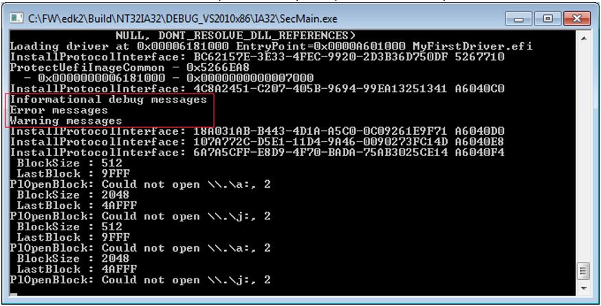 Пишем для UEFI BIOS в Visual Studio. Часть 2 – создаем свой первый драйвер и ускоряем отладку - 13