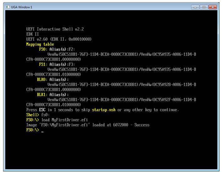 Пишем для UEFI BIOS в Visual Studio. Часть 2 – создаем свой первый драйвер и ускоряем отладку - 5