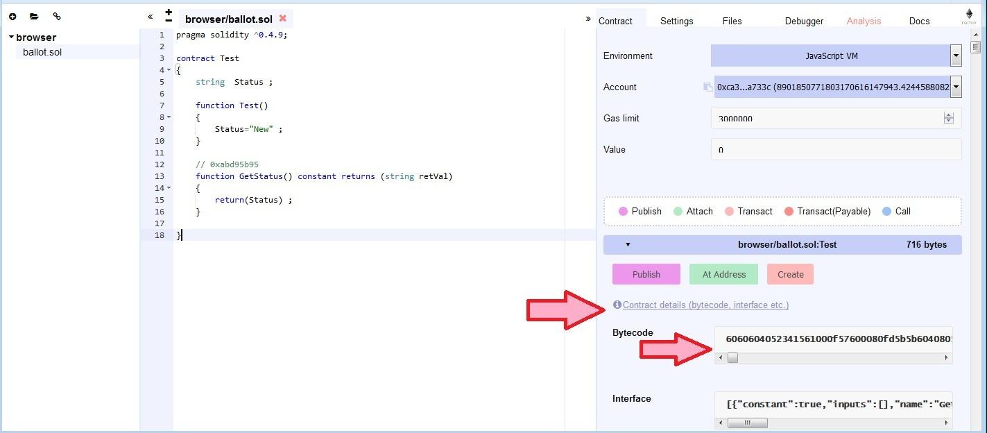 Работа со смарт-контрактами через Ethereum RPC API - 7