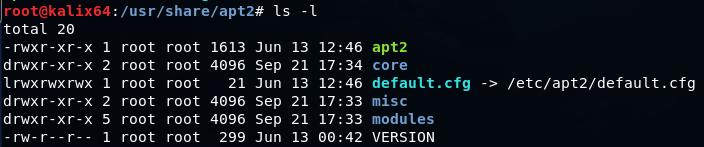 Автоматизируем тестирование на проникновение с apt2 - 3