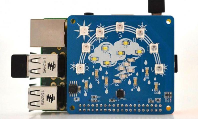 Кроссплатформенная разработка погодной станции для Raspberry Pi - 3