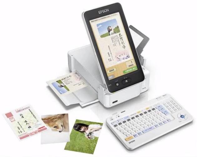 Мобильный принтер для открыток Epson Colorio PF-81 - 1