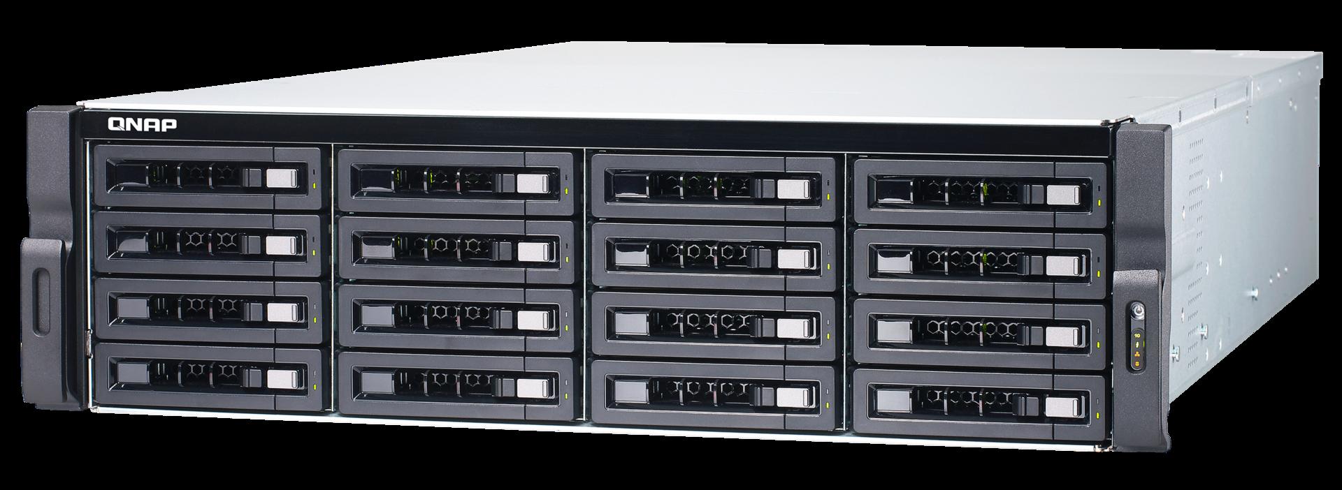 Обзор NAS для малого и среднего бизнеса QNAP TDS-16489U - 1