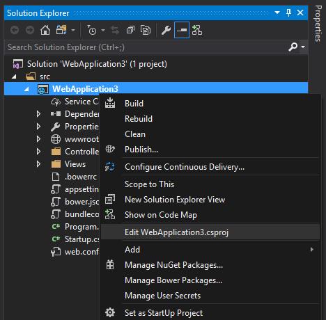 Переход с ASP.NET к ASP.NET Core 2.0 - 1