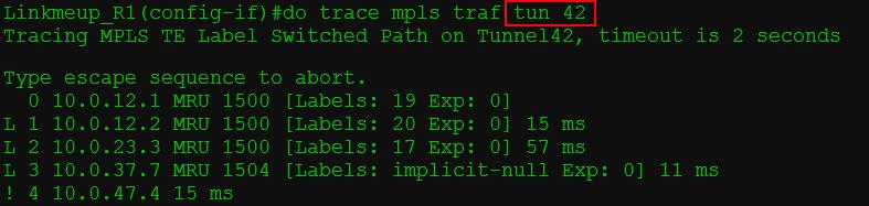 Сети для самых матёрых. Часть тринадцатая. MPLS Traffic Engineering - 36