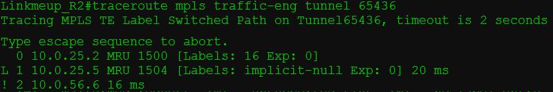 Сети для самых матёрых. Часть тринадцатая. MPLS Traffic Engineering - 54