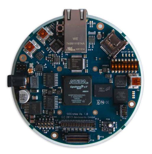 Обзор плат на SoC ARM+FPGA. Часть 2. Мир Intel (Altera) - 26