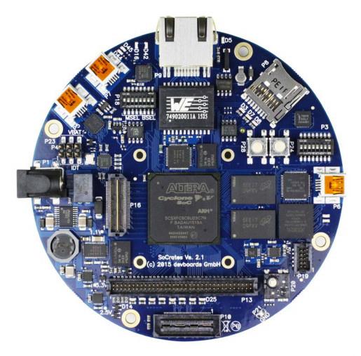 Обзор плат на SoC ARM+FPGA. Часть 2. Мир Intel (Altera) - 28