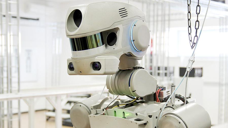 Робот «Фёдор» пройдёт испытания на космическом корабле «Федерация» - 1