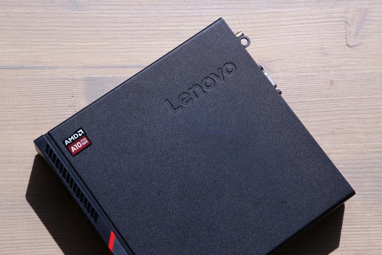 Lenovo ThinkCentre M715q Tiny: волчонок в овечьей шкуре - 2
