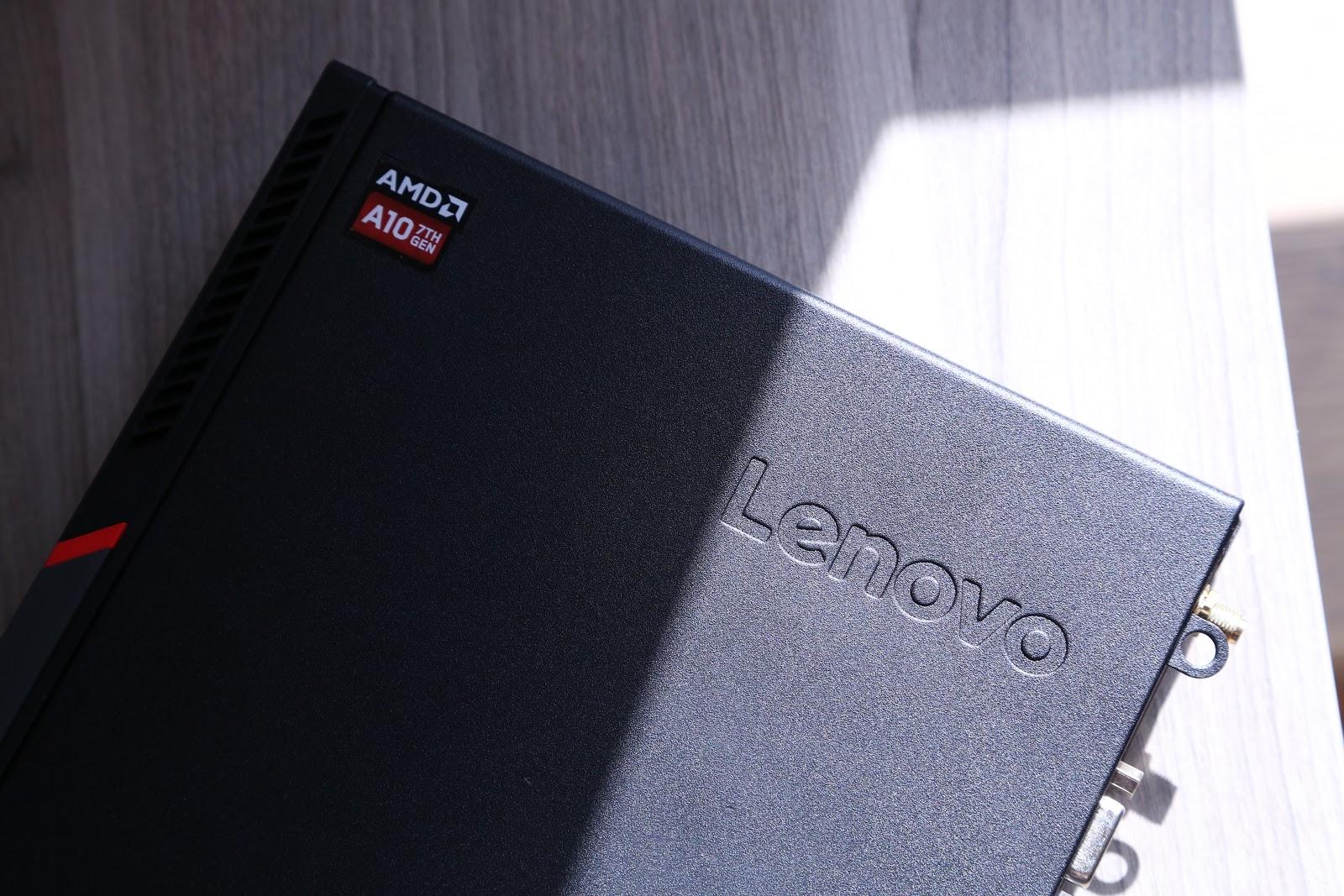 Lenovo ThinkCentre M715q Tiny: волчонок в овечьей шкуре - 1