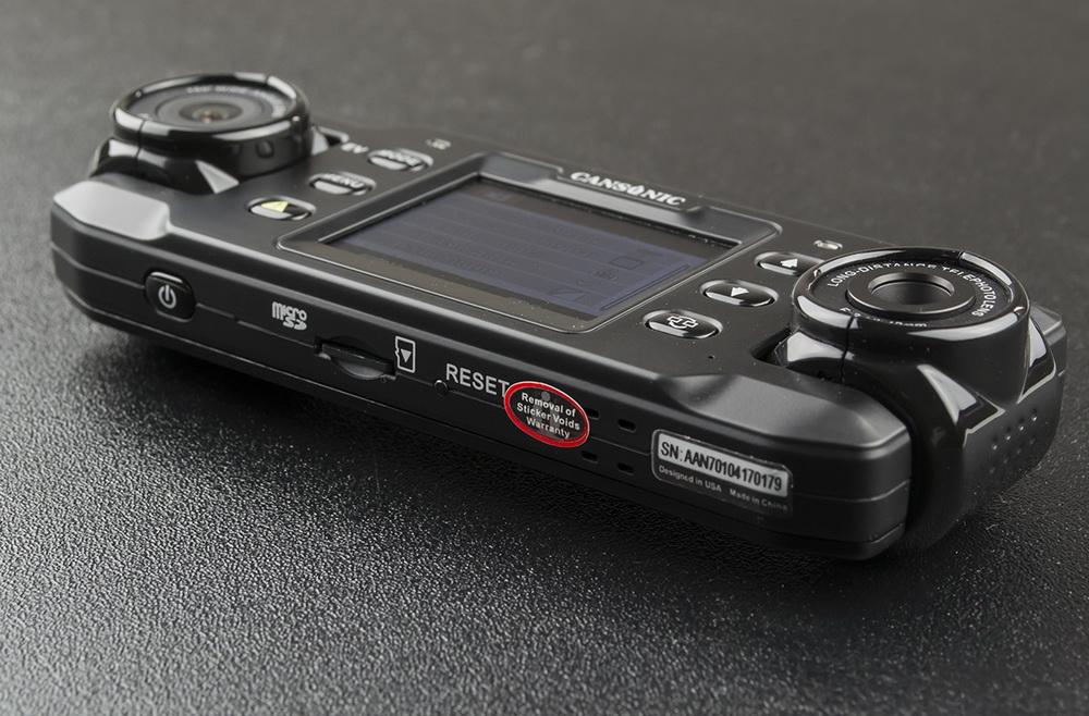 Обзор видеорегистраторов Cansonic Z1 Dual (GPS) и Z1 Zoom (GPS) — два «глаза» лучше, чем один - 11