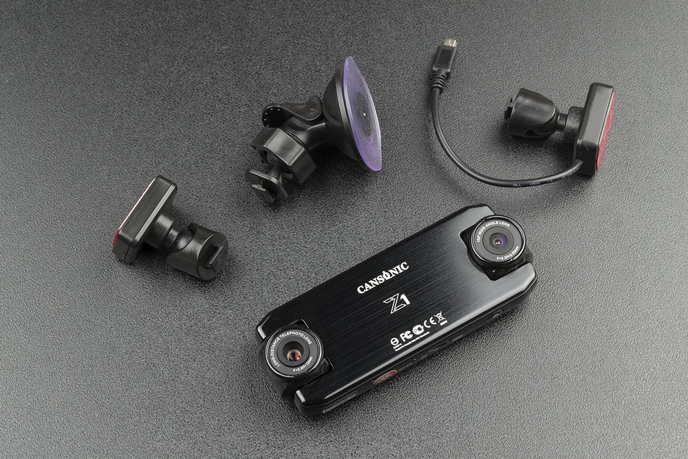 Обзор видеорегистраторов Cansonic Z1 Dual (GPS) и Z1 Zoom (GPS) — два «глаза» лучше, чем один - 12