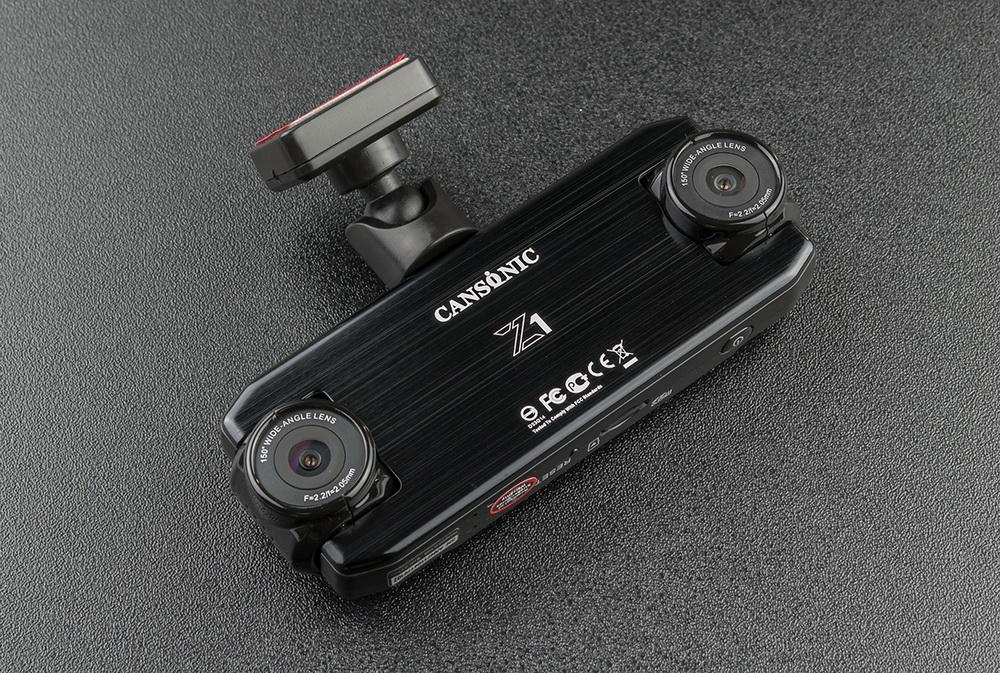 Обзор видеорегистраторов Cansonic Z1 Dual (GPS) и Z1 Zoom (GPS) — два «глаза» лучше, чем один - 14