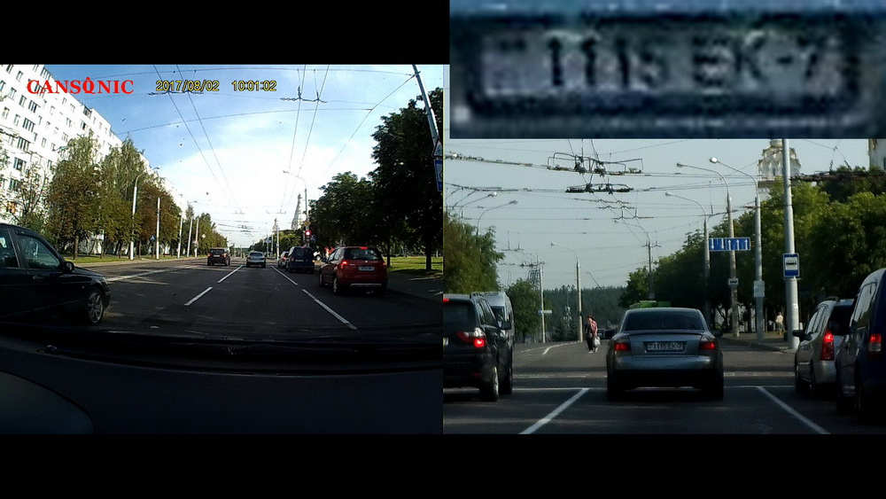 Обзор видеорегистраторов Cansonic Z1 Dual (GPS) и Z1 Zoom (GPS) — два «глаза» лучше, чем один - 28