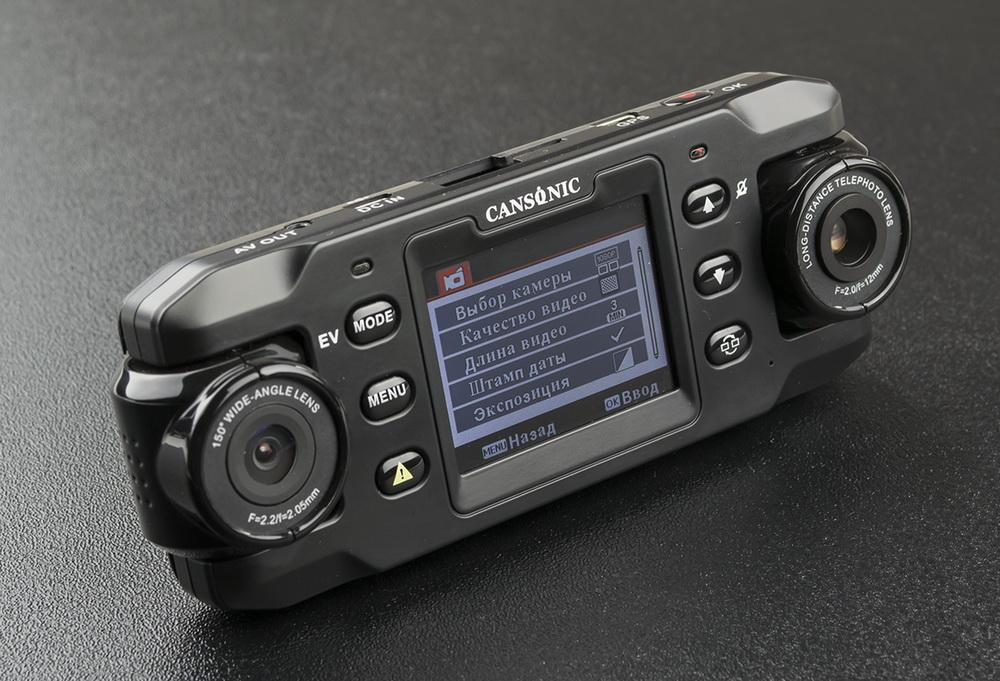 Обзор видеорегистраторов Cansonic Z1 Dual (GPS) и Z1 Zoom (GPS) — два «глаза» лучше, чем один - 7