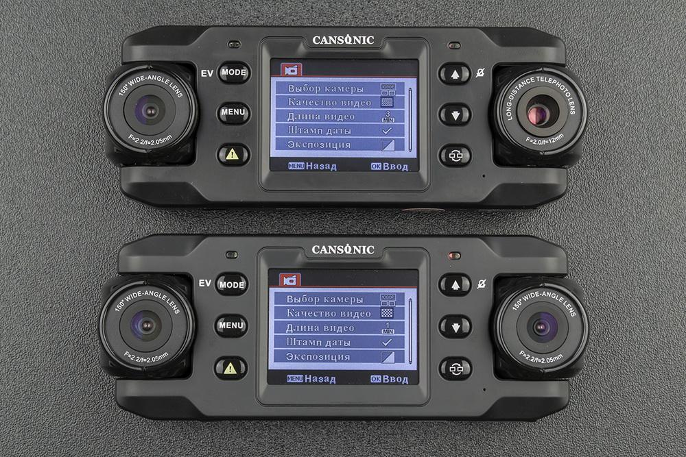 Обзор видеорегистраторов Cansonic Z1 Dual (GPS) и Z1 Zoom (GPS) — два «глаза» лучше, чем один - 8
