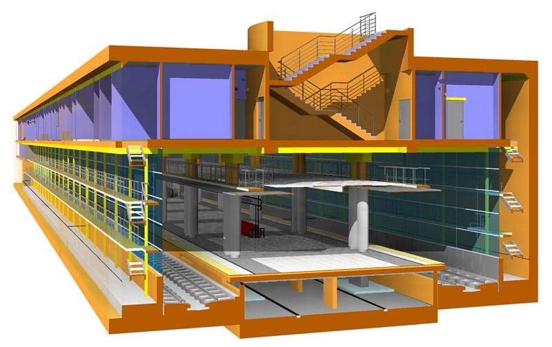 Чем отличается проектирование станции метро от проектирования коттеджа - 1