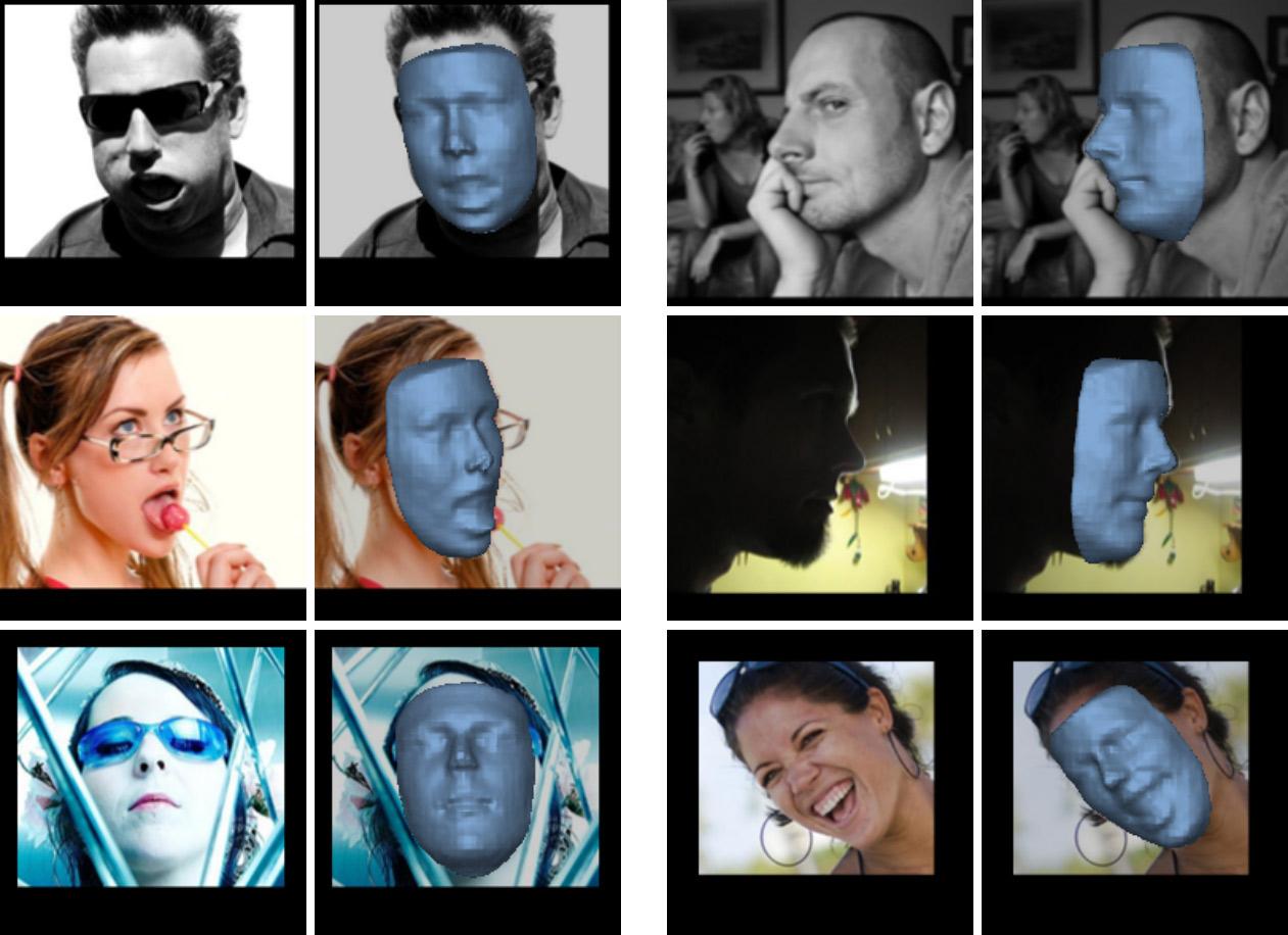 Нейросеть выполняет 3D-реконструкцию лица по фотографии - 1