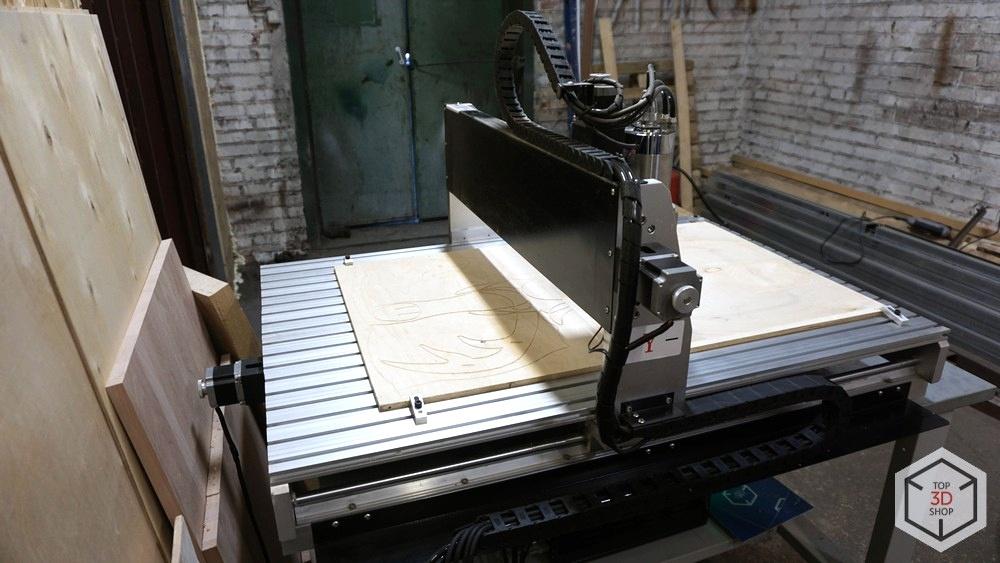 Обзор фрезерного станка с ЧПУ SolidCraft CNC-6090 - 2