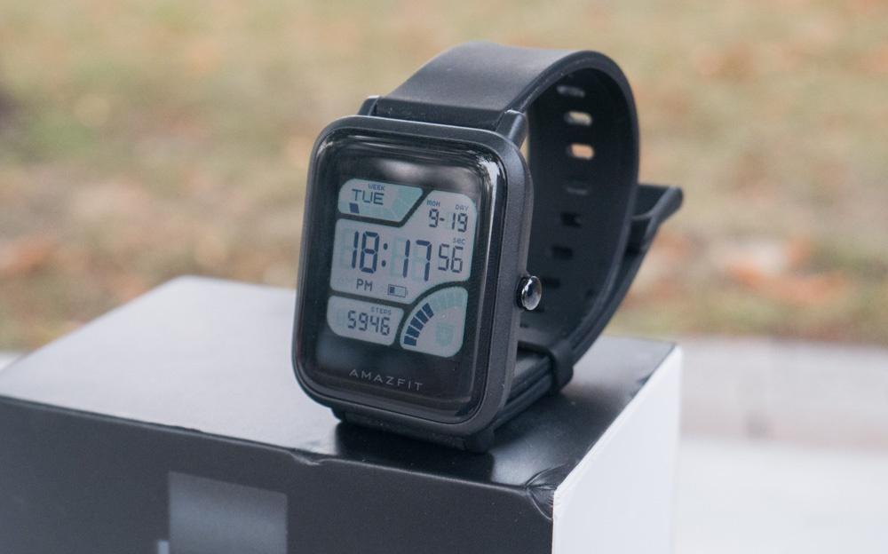 Обзор умных часов Amazfit Bip. Вероятный конкурент Pebble - 1