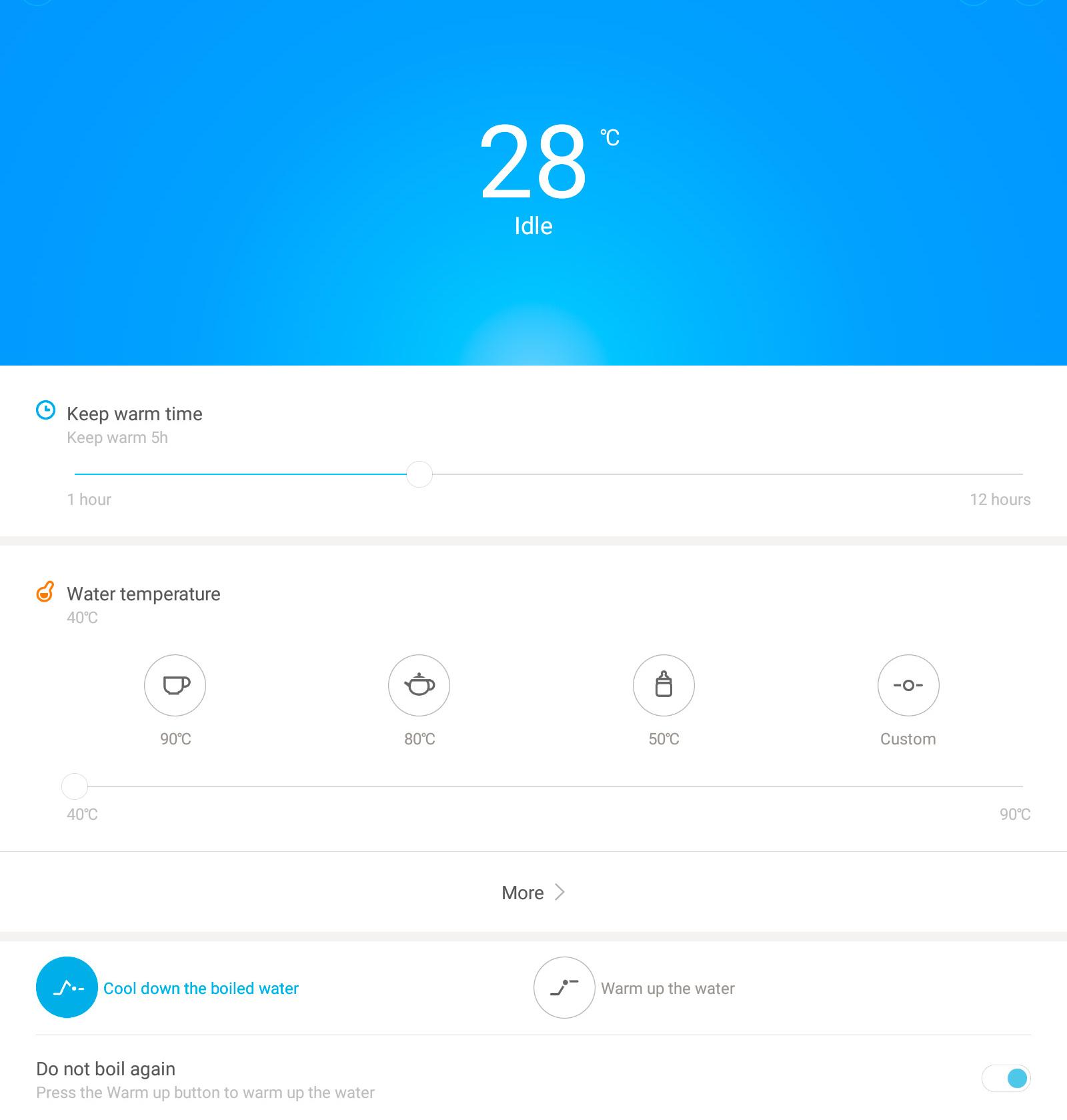 Все время горячая вода с чайником Xiaomi MiJia Smart Kettle - 11