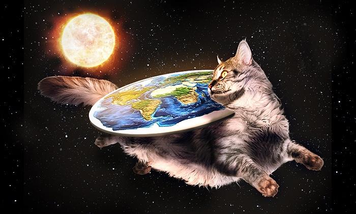 Бремя популяризаторов на плоской Земле - 1