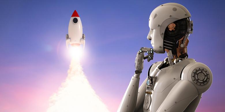 Роботы стремятся к звёздам - 1