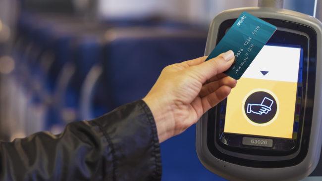 Банковская карта вместо проездного - 1
