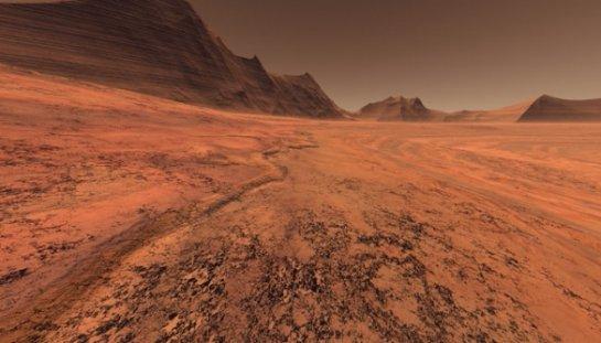 На Марсе также замечено потепление