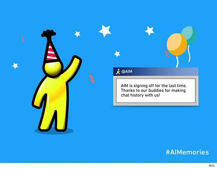 AOL отключает сервис AIM после 20 лет работы - 1