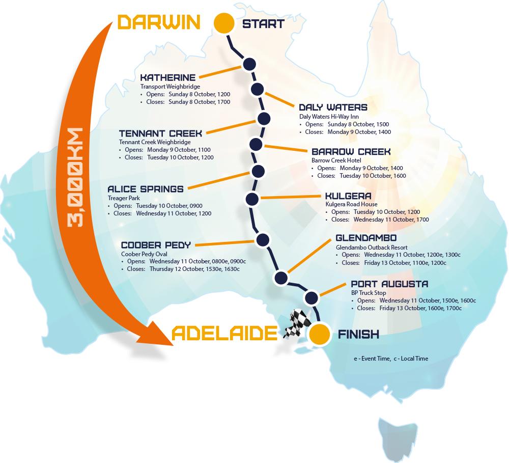 В Австралии началась гонка машин на солнечной тяге - 2