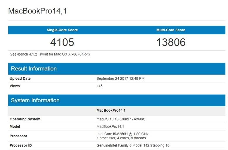 Ноутбуки MacBook Pro обновят, оснастив новыми CPU Intel