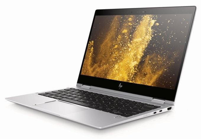 Ноутбук-трансформер HP EliteBook x360 1020 G2 получил экран диагональю 12,5 дюйма разрешением 4K - 3